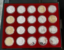 Nagorno-karabakh Artsakh - 23 Silver Coins 1 Oz And 5 Oz - All Different Proof