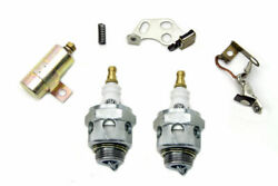 Ignition Tune Up Kit With Beck Spark Plugs For Harley Davidson By V-twin