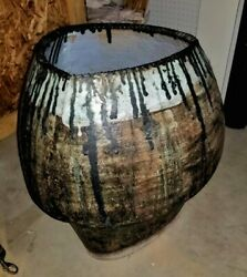 Huge Stoneware Floor Vase Abstract Expressionist Hans Coper Lucie Rie Mcm