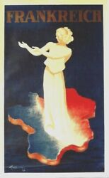 Original Vintage Poster France Welcome Tourists 1937 Cappiello