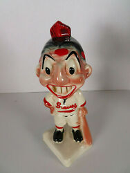1940s Stanford Pottery Boston Braves Gold Tooth Indian Bank