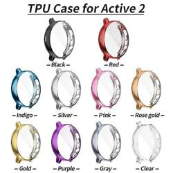 TPU Full Cover Case Screen Protector for Samsung Galaxy Watch Active 2 40 44mm $6.99