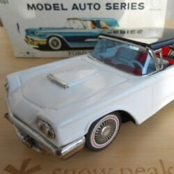 Bc Bandai Ford Thunderbird Tinplate Retro Toy Antique Super Rare
