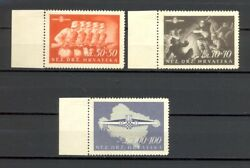 Croatia Ndh Wwii – Rare First Croatian Storm Division Series With Certificate.