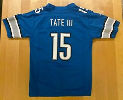 Golden Tate Iii Lions Nike On Field Youth Large Jersey