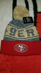 San Francisco 49ers Youth Beanie Hat One Size Fits All
