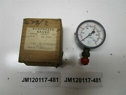 Budenberg Gauge 1/125 2-1/4 0-1000 Lb / In And Cbar 2 W/ Box New Old Stock