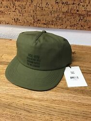 Rare Supply Co. Scout Ivy Green Military Adjustable Baseball Cap Hat Nn