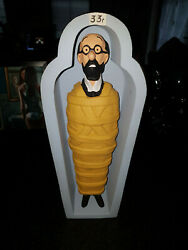 Extremely Rare Tintin Professor Calculus In Tomb Figurine Le Of 20 Statue