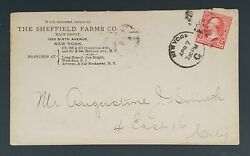 1899 New York Ny Sheffield Farms Drink Koumiss Fermented Milk Advertising Cover