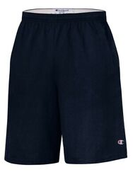 Champion 9quot; Inseam Cotton Jersey Shorts with Pockets 8180 $13.09