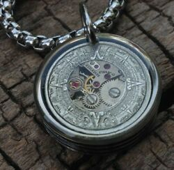 Hobo Nickel Necklace with 26quot; Stainless Steel Chain $35.00