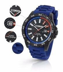 Yamaha Factory Racing Quartz Watch Tw Steel Blue Yxz1000r Atv Mx Gcr-14wfr-bl-45