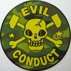 Evil Conduct – Sorry... No 2009 Knock Out Records New Picture Disc Vinyl