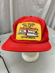 Trucker Hat Baseball Cap Snapback Patch Potato Country Red River Valley Nd Mn
