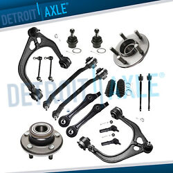 18pc Front Control Arm Suspension Kit For 11 - 14 Chrysler 300 Dodge Charger Rwd