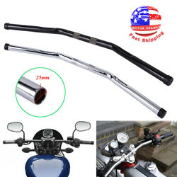1 Drag Handle Bar Handlebars For Harley Fatboy 48 72 Dyna V-rod Honda Universal