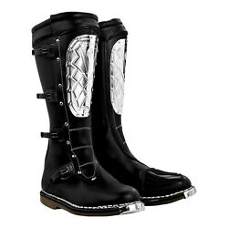 2020 Alpinestars Super Victory Steel Plate Motorcycle Vintage Syle Boots