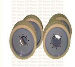 Genie 94908 Front 94909 Rear Set Of Tires Non Marking Mould On 22 X 8