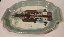 Vtg Rare Old Grand-dad Mystic Seaport The Spirit Of America Whiskey Display Tray