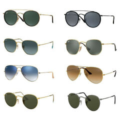 RAY BAN Sunglasses: Choice of Model Color and Size