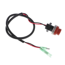 Boat Engine Start Push Button Red Ignition Starter Power Switch Universal Fits