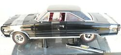 1/18 1967 Plymouth Gtx , Black , The Rear Bumper Is Off And Needs To Be Reattach