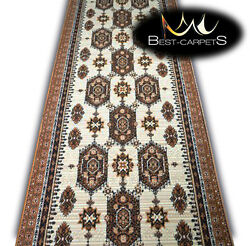 Modern Hall Carpet Runner BCF Clocks ! Stairs Width 70cm-120cm extra long RUGS