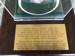Original (FIRST EVER) Football (IN PLAY) at The University of South Florida