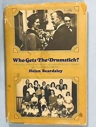 1965 Who Gets The Drumstick Helen Beardsley 1st Edition 1st Printing