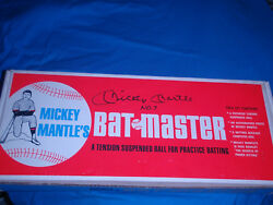 Authentic Mickey Mantle Bat-master---1965---autographed By Mickey Himself