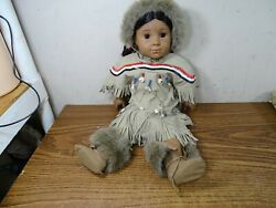 American Girl Doll Native American Indian Girl Good Condition