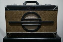 Ball Amplification 5w Handmade Wheary 5 Natural Vintage Suitcase Guitar Tube Amp
