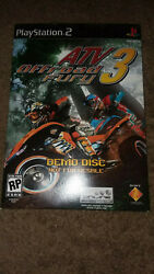 Playstation 2 Atv Offroad Fury 3 Demo Disc 2004 Sony Scus-97437 Ps2 Rare