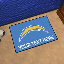 Los Angeles Chargers She Cave Woman Cave Rug Nfl Fanmats