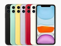 Apple Iphone 11 Verizon Atandt T-mobile Gsm Factory Unlocked Smartphone Cell Phone