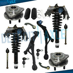 14pc Front Struts Wheel Bearing Hub Control Arms For Dodge Stratus Cirrus Breeze
