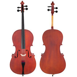 Scherl And Roth Hand Crafted Arietta Student 1/4 Cello Outfit With Bag, Rosin, Bow