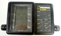Vintage Humminbird Lcr 2000 Fish Finder Head Unit Only Powers Up