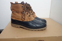 Sporto Womenand039s Original Duck Boots Waterproof Rubber And Leather Size 6 Excellent