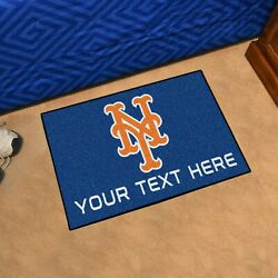 New York Mets She Cave Woman Cave Rug Mlb Fanmats