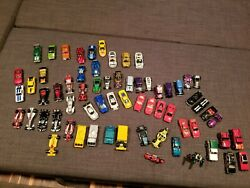 Diecast Classic And Modern Cars By Hot Wheels, Matchbox, Muscle Machines - 65