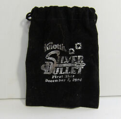 Silver Bullet Knottand039s Berry Farm Opening Vip Press Gift. Roller Coaster.