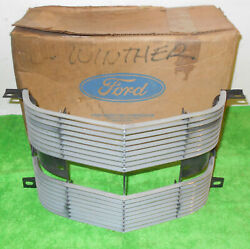 1969 Ford Galaxie 500 Xl Ltd Country Squire Nos Front Center Radiator Grille