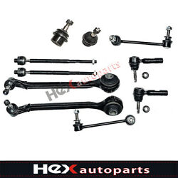 10pc Control Arm Tie Rod End Sway Bar For Dodge Charger Challenger Chrysler 300