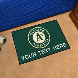 Oakland Athletics Worlds Best Dad She Cave Woman Cave Rug Mlb Fanmats