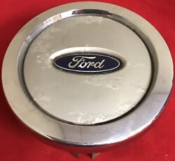 One Used Ford Oem Factory Silver Center Wheel Rim 2l14-1a096-bb 69401 6631