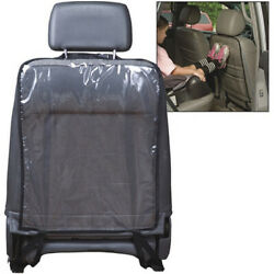 Black Border Car Seat Protector Cover For Child Baby Kick Mat Protect Universal
