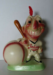 1950's Cleveland Indians Gibbs Conner Bank - Glossy Painted Base