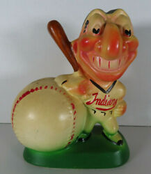 1950's Cleveland Indians Gibbs Conner Flat Paint Bank